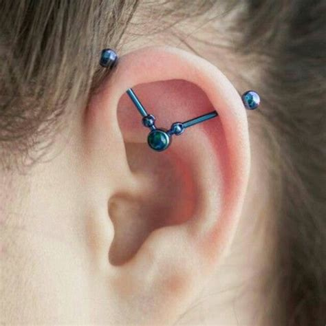 trident industrial piercing 90 classical and wackier industrial piercing ideas
