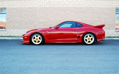 toyota supra side view toyota supra sports car wallpapers and resources