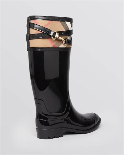 s burberry boots burberry boots elderford in black lyst