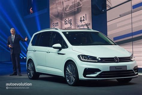 volkswagen white 2016 2016 volkswagen touran r line package launched in germany