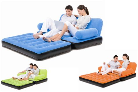 air cum sofa bed bestway 5 in 1 inflatable velvet sofa air bed couch sofa