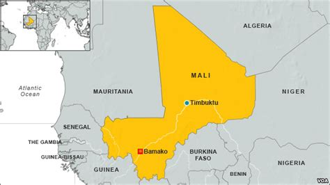 timbuktu map 10 islamists killed in timbuktu