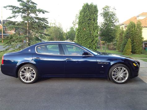 blue maserati quattroporte 100 chrome blue maserati luxury ride maserati