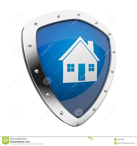 home shield royalty free stock images image 19691589