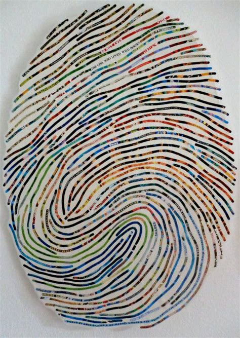 biometric art thumbprint art blow up image of child s thumbprint to