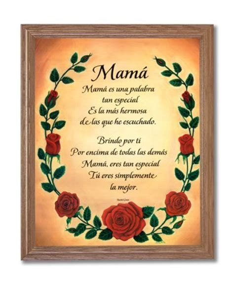 spanish mothers day poems mother day quotes in spanish bible quotesgram