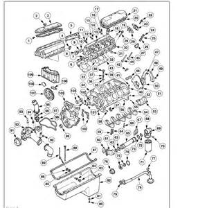 i need an exploded view of a 99 f350 diesel engine