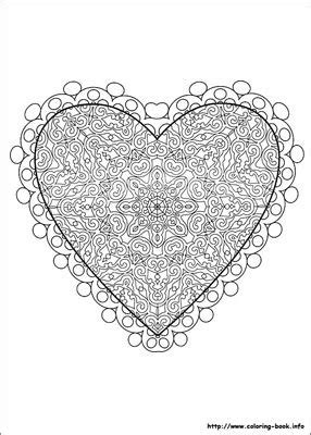 advanced valentine coloring pages coloring pages coloring and mandalas on pinterest