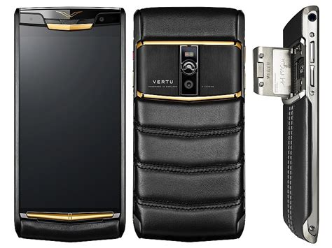 vertu mobile vertu signature touch is a premium smartphone with top end