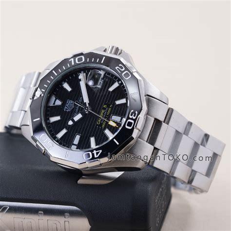 Jam Tangan Tag Heuer Harga jam tangan tagheuer aquaracer cal 5 automatic silver black