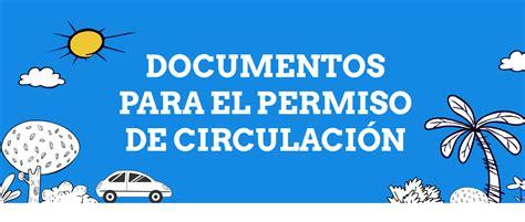 no pagaste el permiso de circulacin de tu auto a tiempo esto es 191 qu 233 documentos son necesarios para pagar el permiso de