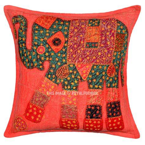 colorful pillow cases burgundy colorful one of a elephant throw pillow