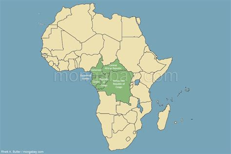africa map congo river image congo river basin rainforest map