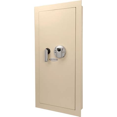 sentrysafe 0 42 cu ft all steel wall safe with