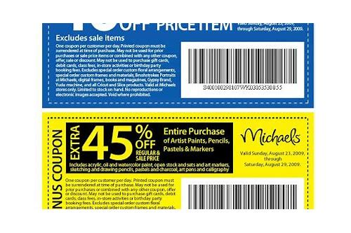www.michaels mobile coupon