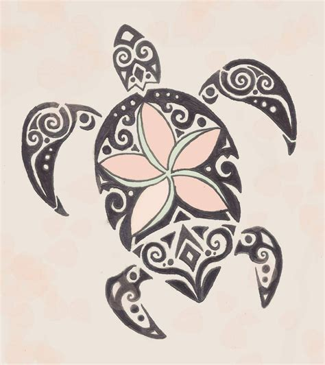 tribal mom tattoo tribal turtle drawing at getdrawings free for