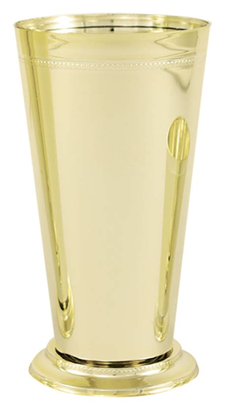 Mint Julep Vase by Gold Mint Julep Vase Cup Vacuum Orna Metal