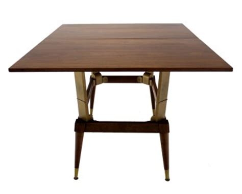 mid century modern convertible coffee dining table