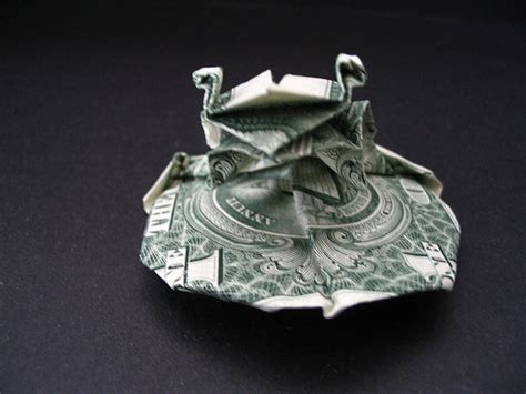 Dollar Origami Frog On A Pad Kermit I Couldn T - dollar origami frog on a pad kermit i couldn t