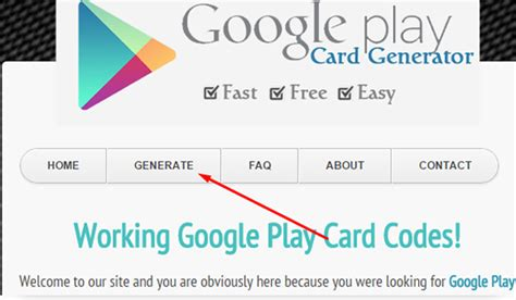 Code For Google Play Gift Card - working google play gift card online code generator hacks and glitches portal