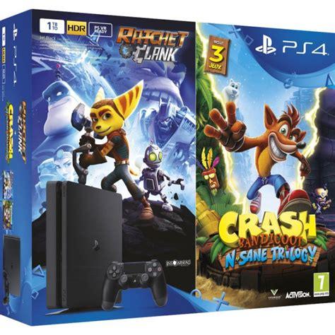 ps4 themes crash crash bandicoot n sane trilogy et ratchet clank compil 233 s