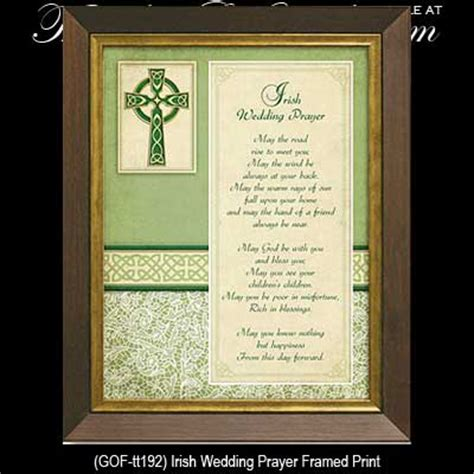 Wedding Blessing Gift by Wedding Blessing Plaque Framed
