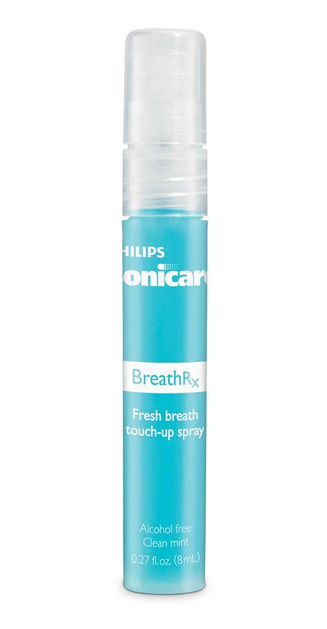 breath spray breathrx touch up breath spray dis362 03 sonicare