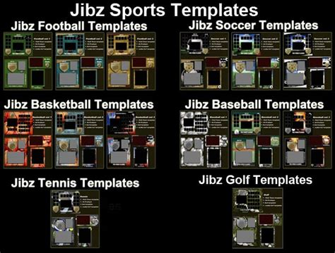 free photoshop sports templates sports photo templates sports memory mate templates