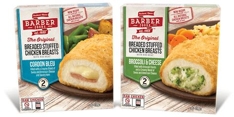 barber food printable coupons barber foods stuffed chicken entrees just 1 25 at stop