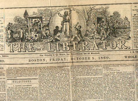 The Liberator by The Liberator Abolitionist Magazines