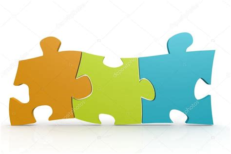 Pieces Of Three color puzzle three pieces stock photo 169 tang90246 87204476