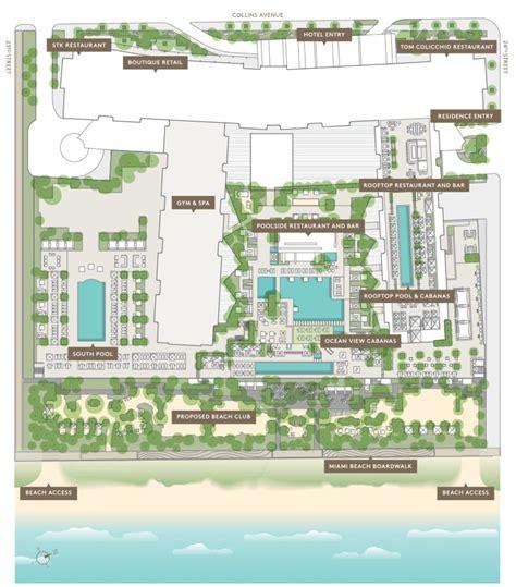 St Regis Floor Plan 1 Hotel Homes Miami Beach 102 24th St Miami Beach Fl 33139
