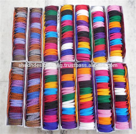 Handmade Threads - 2016 all new designs indian handmade silk thread bangles