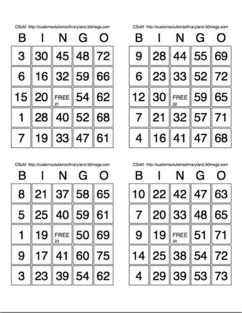 bingo calling cards template 6 best images of paper bingo sheets printable paper