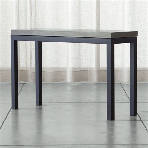 sofa table with ls crate and barrel sofa table rustic work table 72
