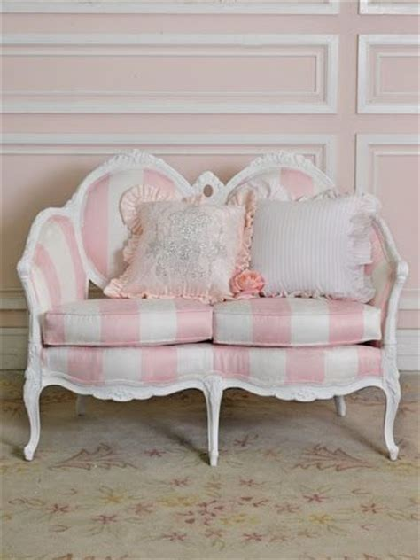 Pink And White Striped Chair by Pink And White Striped Small Sofa Pink