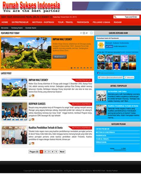 contoh desain web distro contoh blog personal downlllll