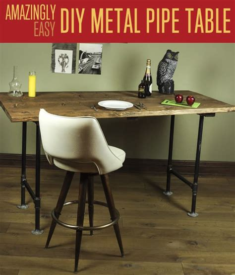 diy industrial table legs diy pipe leg table diy projects craft ideas how to s for