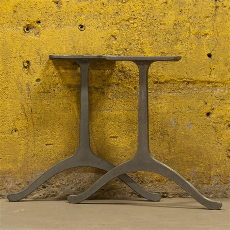 wishbone legs industrial table tops and bases by