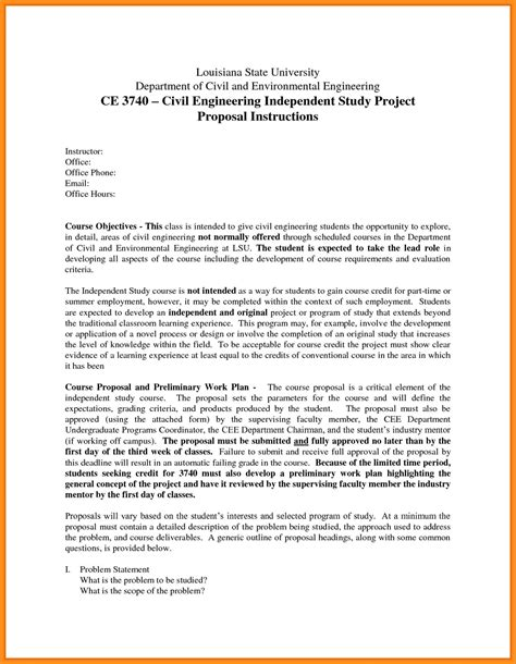 proposal format engineering engineering project proposal template siudy net