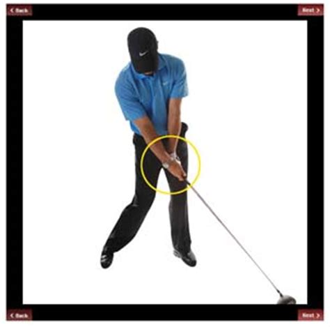 aj bonar golf swing at this point in the downswing a hitter is in a perfect