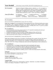 Resume Sles And Templates by Sle Resume For Property Accountant Jianbochen