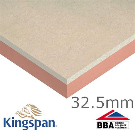 phenolic floor insulation 32 5mm kingspan kooltherm k18 insulated plasterboard