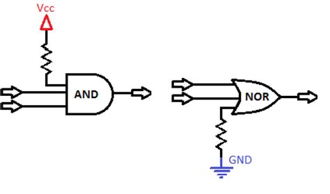 how to set up pull resistor pull up and pull resistors