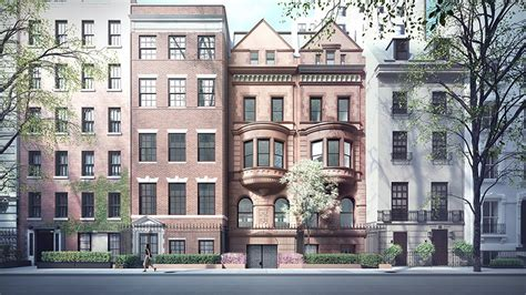 Row House Nyc - herzog amp de meuron to convert a trio of townhouses in ny
