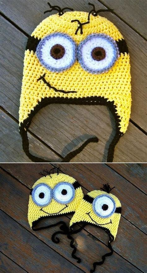 Knitting Pattern Minion Despicable Me Hat Choice Image Knitting