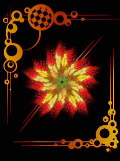 abstract flower mobile wallpaper mobile toones