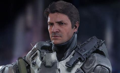 nathan fillion edward buck nathan fillion to reprise role in halo 5 guardians