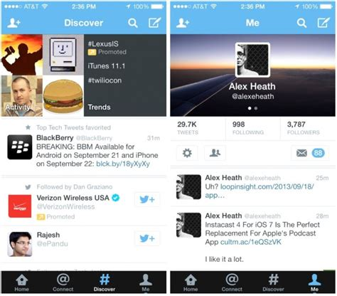 new twitter layout on iphone twitter for ios 7 released with new design icon on iphone
