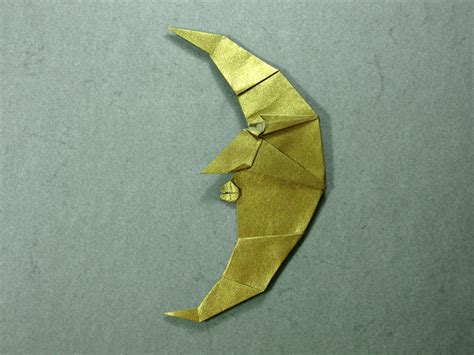 Folding Paper Moon - moon engel happy folding